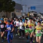 「川西町元旦マラソン」を見に行ってきたんだっし!
