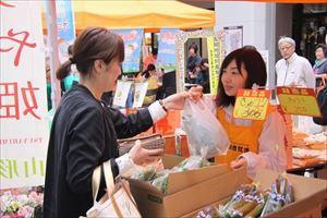 東北最大級のアウトレットモール、三井アウトレットパーク 仙台港で「行ぐべ山形!おきたま産直フェア」を開催!
