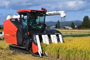 収穫の最適解を予測するクボタロボットコンバイン